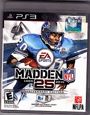 Buy Madden NFL 25 -- Anniversary Edition PlayStation 3, 2013 Video Game - Very Good