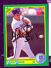 Buy Kevin Seitzer, 3B, Royals, Score Trading Card 199