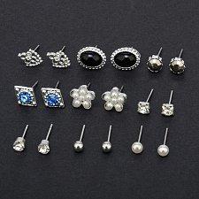 Buy 9 pairs earrings