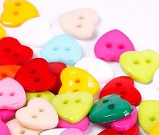 Buy 100PCS Sewing buttons