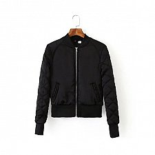 Buy women soft short jacket black