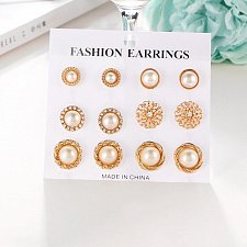 Buy 6 pairs earrings