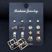 Buy 8 pairs earrings