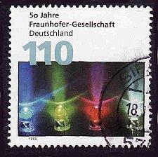 Buy German Used Scott #2033 Catalog Value $.85