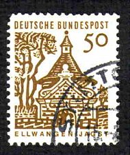 Buy German Used Scott #909 Catalog Value $.25