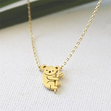 Buy 1pc gold plated necklace