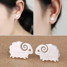 Buy 1 pair silver plated earring