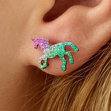 Buy 1 pair colorful fashion earring