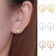 Buy 1 pair 3 colors women fashion earring