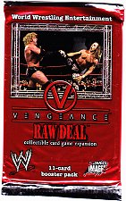Buy WWE RAW DEAL - Vengeance - Booster Pack Factory Sealed