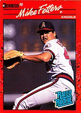 Buy Mike Fetters #35 - Angels 1990 RC Donruss Baseball Trading Card