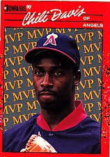 Buy Chili Davis #BC20 - Angels 1990 Donruss Baseball Trading Card