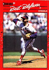 Buy Bert Blyleven #331 - Angels 1990 Donruss Baseball Trading Card