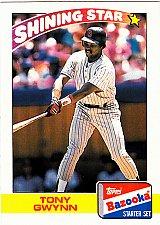Buy Tony Gwynn #13 - Padres 1989 Topps Bazooka Baseball Trading Card