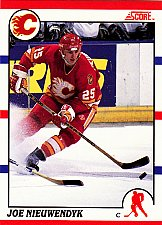 Buy Joe Nieuwendyk #30 - Flames 1990 Score Hockey Trading Card