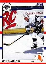 Buy Bob Kudelski #305 - Kings 1990 Score Rookie Hockey Trading Card