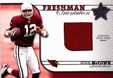 Buy Josh McCown #FO-5 - Cardinals 2002 Donruss - Event Worn - Football Card