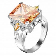 Buy women crystal zircon ring
