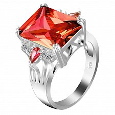 Buy fashion women crystal zircon ring