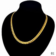 Buy 20inch men gold/silver necklace