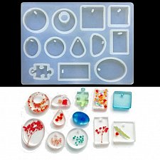Buy fashion cake silicone DIY jewelry craft mold