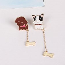 Buy 2pcs cute brooch