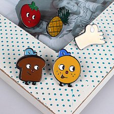 Buy 5pcs cute brooch jewelry children