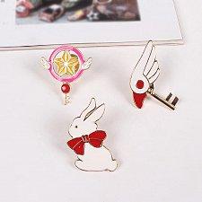 Buy 3pcs cute brooch jewelry children