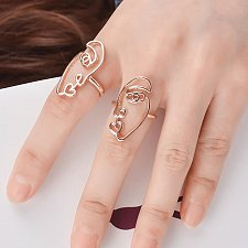 Buy cute 2pcs rings