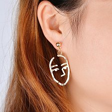 Buy 2 colors women fashion earring