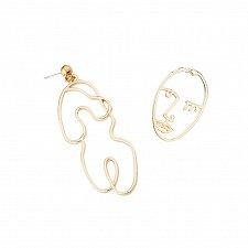 Buy 2 colors 1pair women fashion earring