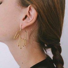 Buy 2 colors women fashion cute earring