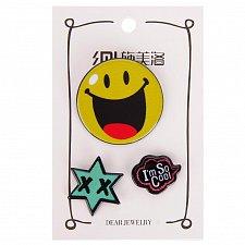 Buy 3pcs cute kids brooch jewelry pin