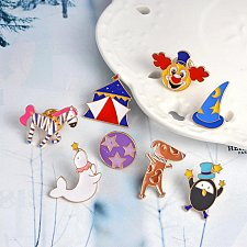 Buy 8pcs cute brooch jewelry children pin