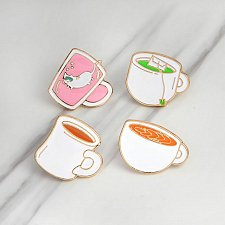 Buy 4pcs cute brooch jewelry kid pin