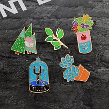 Buy 5pcs cute brooch jewelry set