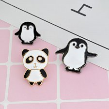 Buy 3pcs cute animals brooch jewelry children