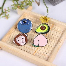 Buy 4pcs cute kids brooch jewelry pins
