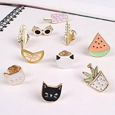 Buy 7pcs funny women brooch jewelry pins