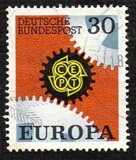 Buy German Used Scott #970 Catalog Value $.25