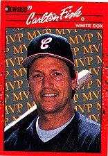 Buy Carlton Fisk #BC19 - White Sox 1990 Donruss Baseball Trading Card