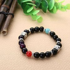Buy Sale men Buddha beads bracelet