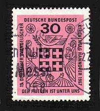 Buy German Used Scott #972 Catalog Value $.30