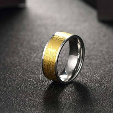 Buy fashion men titanium steel ring