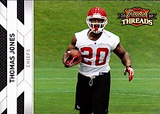 Buy Thomas Jones - Chiefs 2010 Panini Threads Football Trading Card #73