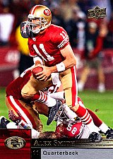 Buy Alex Smith #166 - 49ers 2009 UpperDeck Football Trading Card