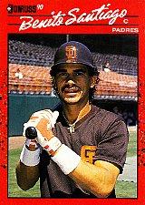 Buy Benito Santiago #465 - Padres 1990 Donruss Baseball Trading Card