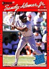Buy Sandy Alomar Jr #30 - Padres 1990 Donruss Rookie Baseball Trading Card