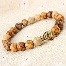Buy Men guanying Buddha beads bracelet