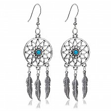 Buy Women silver plated earring